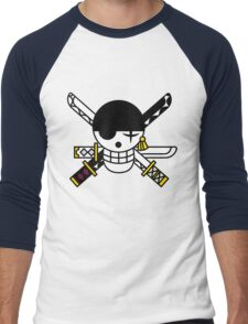 zoro flag Men's Baseball ¾ T-Shirt