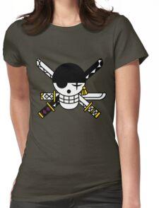 zoro flag Womens Fitted T-Shirt