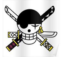 zoro flag Poster