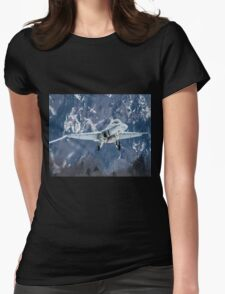 Swiss Air Force F-5E Tiger Womens Fitted T-Shirt
