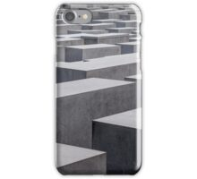 Holocaust Memorial, Berlin, Germany iPhone Case/Skin