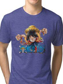 luffy Tri-blend T-Shirt