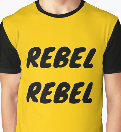 REBEL REBEL Graphic T-Shirt