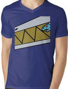 Dino Charge Aqua - Costume Mens V-Neck T-Shirt