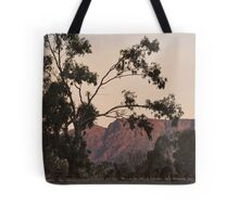 Kangaroos at the Mountain Side by Lorraine McCarthy Tote Bag
