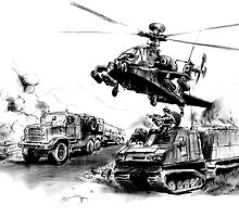 Afghanistan Convoy by olivercook