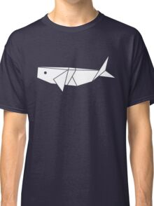 Origami Whale Classic T-Shirt