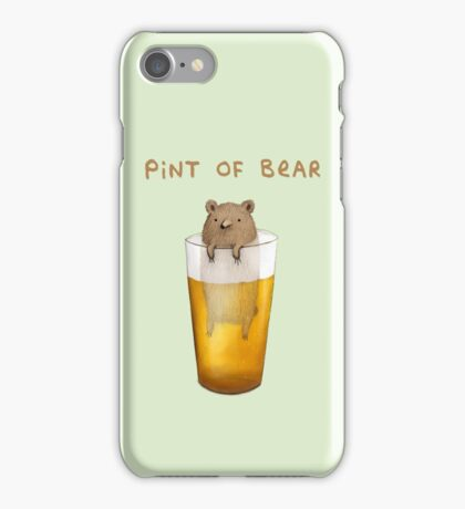 Pint of Bear iPhone Case/Skin