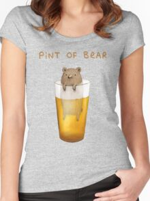 Pint of Bear Women's Fitted Scoop T-Shirt