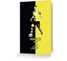 Marco Reus Greeting Card