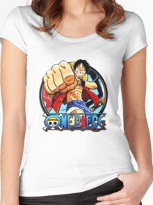 luffy crew Women's Fitted Scoop T-Shirt