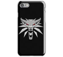 The Witcher 3 Red Eyed Wolf iPhone Case/Skin