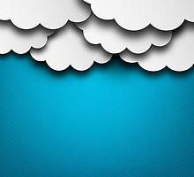 Cloudy Background by Olga Altunina