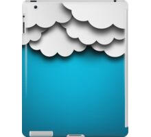 Cloudy Background iPad Case/Skin