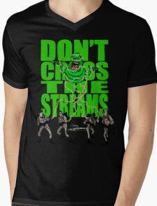 DON'T CROSS THE STREAMS Mens V-Neck T-Shirt