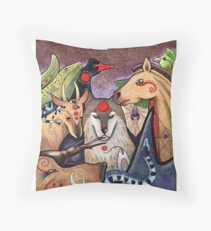 DIY Totemism - Cover Art Throw Pillow