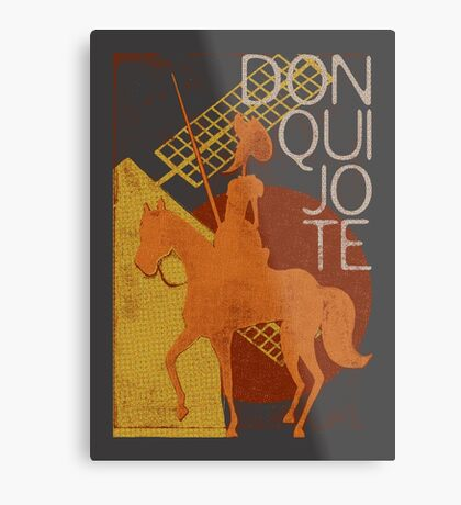 Books Collection: Don Quixote Metal Print