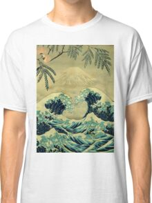 The Great Blue Embrace at Yama Classic T-Shirt