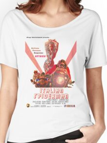 Italian Spiderman Poster - ONE:Print Women's Relaxed Fit T-Shirt