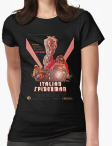 Italian Spiderman Poster - ONE:Print Womens Fitted T-Shirt