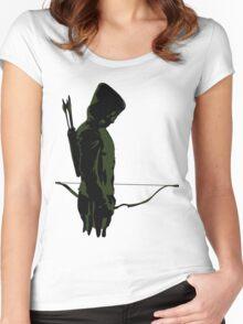 Green Arrow - Oliver Queen Women's Fitted Scoop T-Shirt