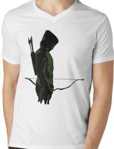 Green Arrow - Oliver Queen Mens V-Neck T-Shirt