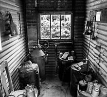 Miners Shed by Joel Bramley