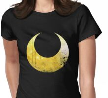 Sailor Moon grunge universe symbol Womens Fitted T-Shirt