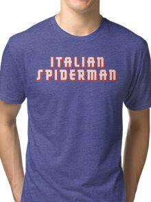 Italian Spiderman - ONE:Print Tri-blend T-Shirt