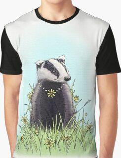 Daisy's Badger Graphic T-Shirt