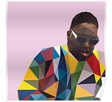 Polygonal Biggie Poster
