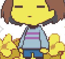Frisk - Undertale spawn  Sticker