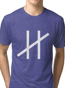 Moderat Logo #HD Tri-blend T-Shirt