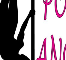 Pole Dancer (White Angel) Sticker