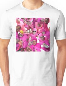 filthy shades of pink Unisex T-Shirt