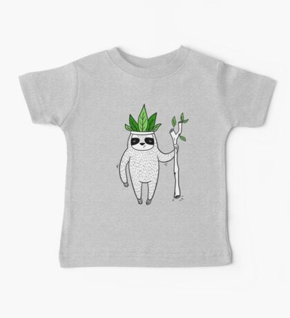 King of Sloth Baby Tee