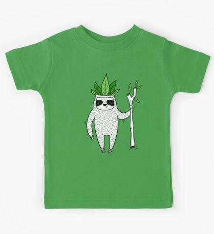 King of Sloth Kids Tee