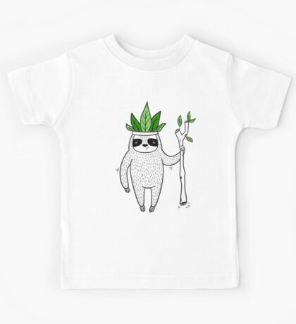 King of Sloth Kids Tee