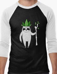 King of Sloth Men's Baseball ¾ T-Shirt