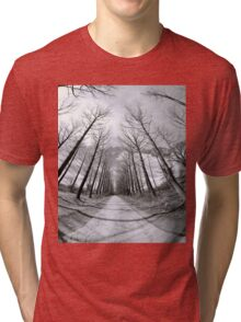 Snow Trees Tri-blend T-Shirt