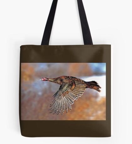 Turkey Flying - Wild Turkey, Ottawa, Canada Tote Bag