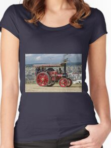 "Burrell 5nhp Road Locomotive No.4093 ""Dorothy"" Women's Fitted Scoop T-Shirt"