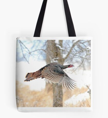 As God as my Witness... Wild Turkeys can fly! Tote Bag