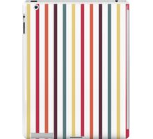 Fallen Leaf Stripe Pattern iPad Case/Skin
