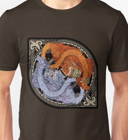 Ice and Fire Monkeys Unisex T-Shirt