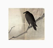 Crow On A Willow Branch - anon - c1880 Unisex T-Shirt