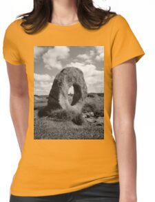 Mên-an-Tol, Cornwall Womens Fitted T-Shirt