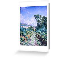 Beacon Hill, Devon Greeting Card