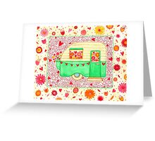 Caravan of Love Greeting Card