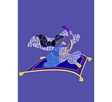 magic carpet Photographic Print